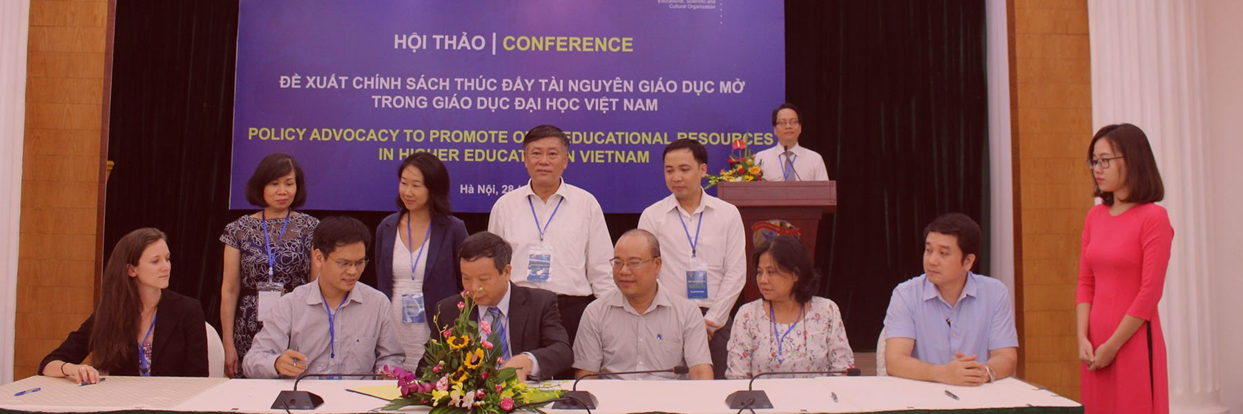 Policy advocacy to promote of educational resources in higher education Vietnam