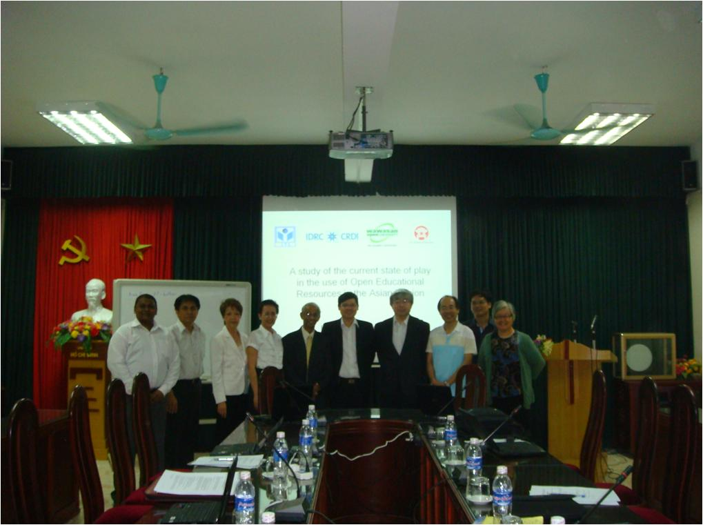 OER ASIA meeting in Hanoi