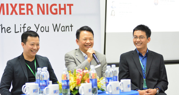 Kien Pham with young generation