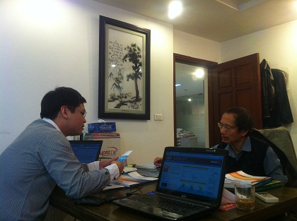 Prof Thanh and Minh Do